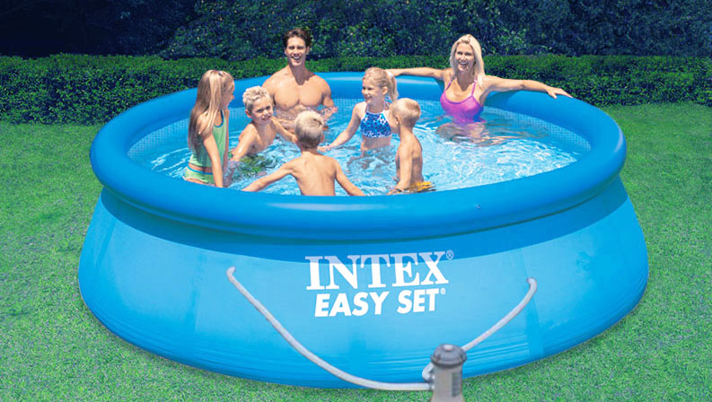 intex swimming pools swimming pool builders in kent. Black Bedroom Furniture Sets. Home Design Ideas