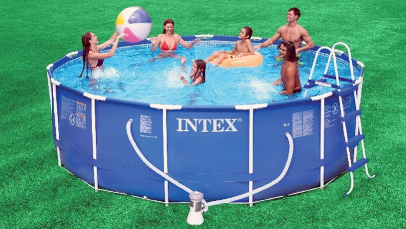 Oasis Swimming Pools Kent | Intex Metal Frame Pool