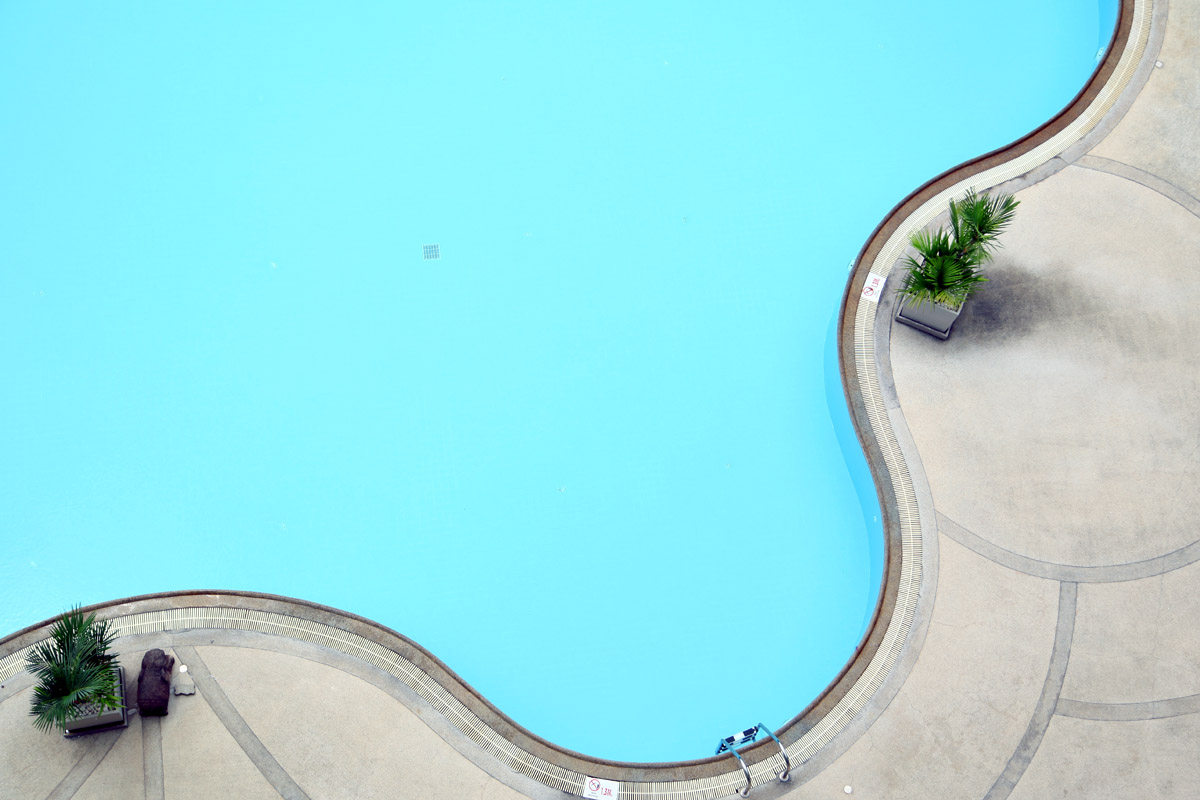 Painted In Ground Concrete Swimming Pools Swimming Pool